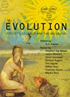 Evolution: Society, Science and the Universe…