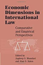 Economic dimensions in international law :…