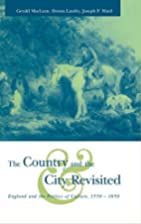 The country and the city revisited : England…