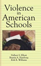 Violence in American Schools: A New…
