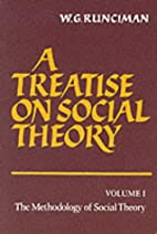 A treatise on social theory by W. G.…
