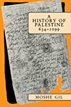 A History of Palestine, 634-1099 by Moshe…