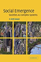 Social Emergence: Societies As Complex…