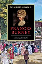 The Cambridge Companion to Frances Burney by…