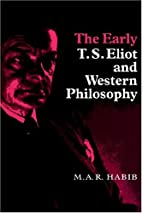 The early T.S. Eliot and western philosophy…