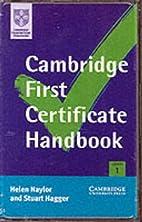 Cambridge First Certificate Handbook…
