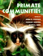 Primate Communities by J. G. Fleagle