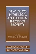 New Essays in the Legal and Political Theory…