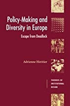 Policy-Making and Diversity in Europe:…