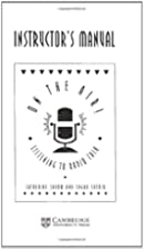 On the Air Instructor's Manual: Listening to…