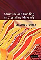 Structure and Bonding in Crystalline…