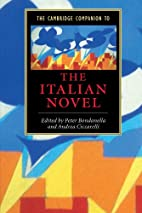 The Cambridge Companion to the Italian Novel…