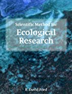 Scientific Method for Ecological Research by…