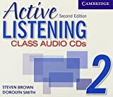 Brown, Steven: Active Listening 2 Class Audio CDs
