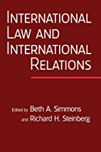 International Law and International…