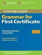 Cambridge Grammar for First Certificate…