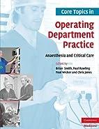 Core Topics in Operating Department…