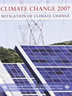Climate Change 2007: Mitigation of Climate…