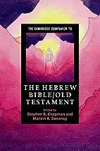 The Cambridge Companion to the Hebrew…