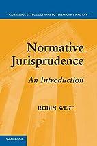 Normative Jurisprudence: An Introduction…