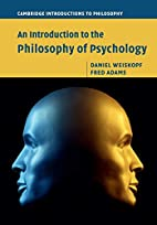 An Introduction to the Philosophy of…