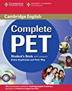 Complete PET Student's Book with answers…