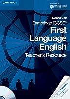 Cambridge IGCSE First Language English…