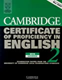 University of Cambridge Local Examinations Syndicate: Cambridge Certificate of Proficiency in English 2: Examination Papers from the University of Cambridge Local Examinations Syndicate