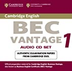 Cambridge BEC Vantage 1 Audio CD Set (2…