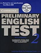 Cambridge Preliminary English Test 2…