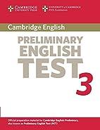Cambridge Preliminary English Test 3…