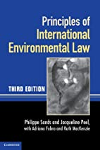 Principles of International Environmental…