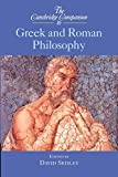 Sedley, D. N.: The Cambridge Companion to Greek and Roman Philosophy
