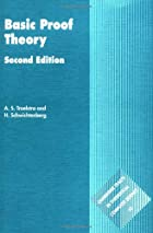 Basic Proof Theory by A. S. Troelstra