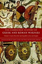 The Cambridge History of Greek and Roman…