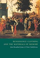 Renaissance Clothing and the Materials of…