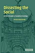 Dissecting the Social: On the Principles of…