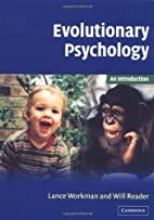 Evolutionary Psychology: An Introduction by…