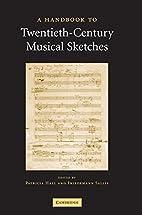 A Handbook to Twentieth-Century Musical…