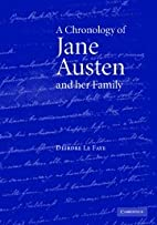 A Chronology of Jane Austen and her Family:…