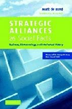 Strategic Alliances as Social Facts:…