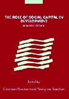 The Role of Social Capital in Development:…