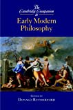Rutherford, Donald: The Cambridge Companion to Early Modern Philosophy
