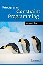 Principles of Constraint Programming by…