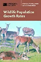 Wildlife population growth rates by T. H.…