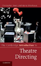 The Cambridge Introduction to Theatre…