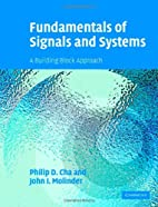 Fundamentals of Signals and Systems with…