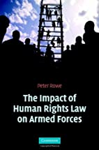 The Impact of Human Rights Law on Armed…