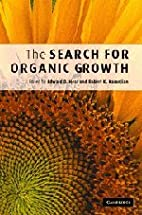The Search for Organic Growth by Edward D.…