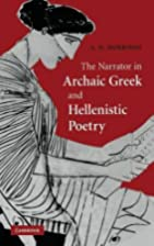 The Narrator in Archaic Greek and…